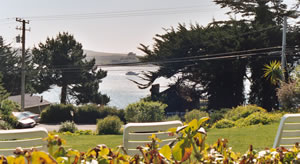 Bodega Bay view from the the Inn